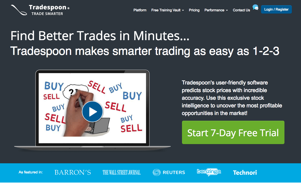 Tradespoon Review – Automated Technical Analysis For Today's Trader