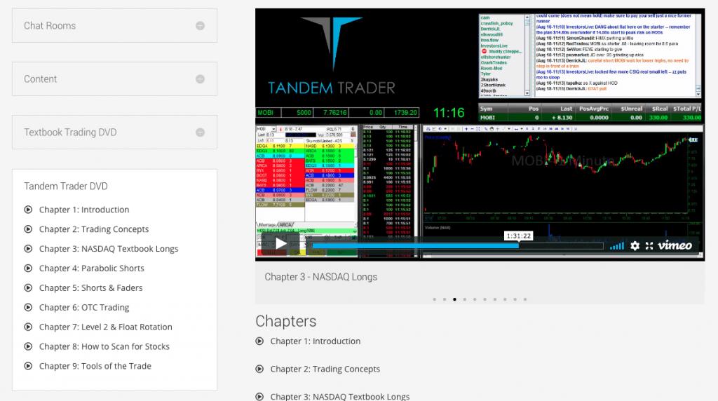 Tandem Trader Course
