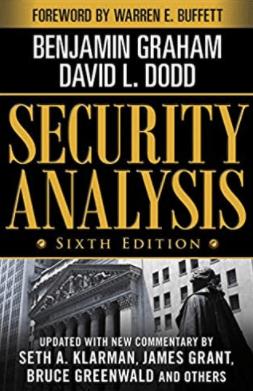 Benjamin Graham Security Analysis
